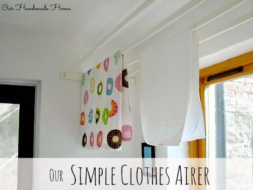 Simple Clothes Airer - Our Handmade Home