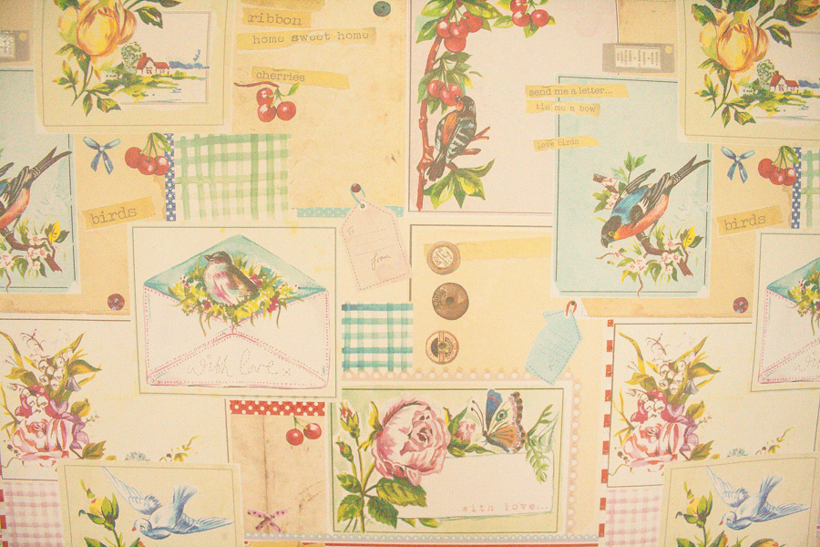 Paperchase Cute Bird Wrapping Paper