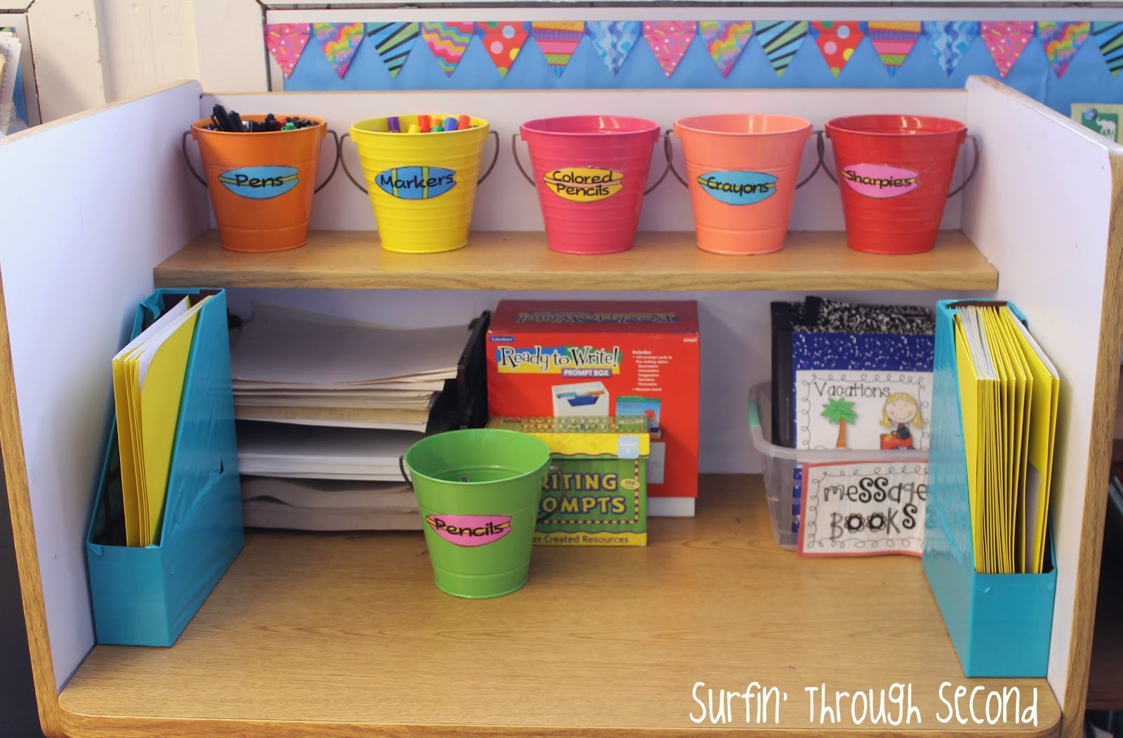 Classroom Writing Ideas ~ Teacher week classroom management surfin through second