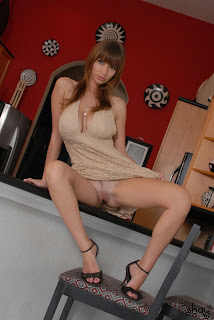 Shay Laren Kitchen Striptease