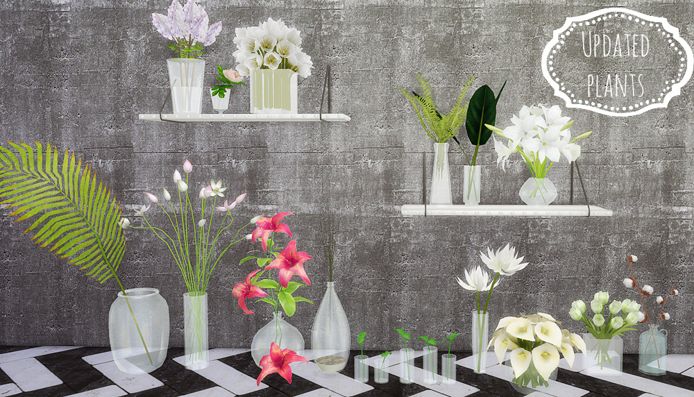 updated plants ii mio sims. Black Bedroom Furniture Sets. Home Design Ideas