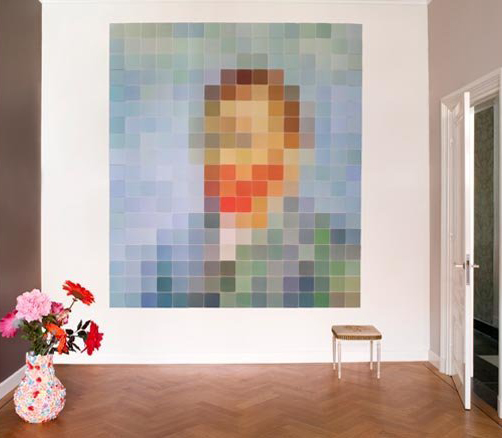 if youre not one of those people who like to see themselves plastered on the wall in a huge painting a little narcissistic perhaps and would rather be a - Pixelated Interior Design