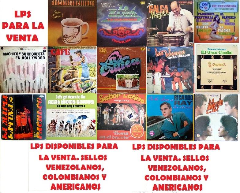 LISTADO ACTUALIZADO DE LPS/DISCOS, DISPONIBLES PARA LA VENTA, INFO POR PRIVADOS.