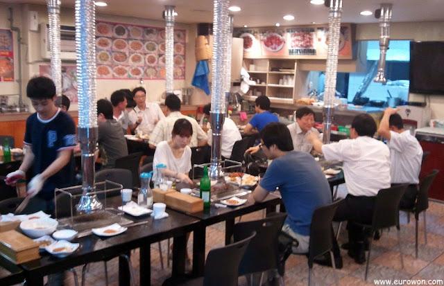 Restaurante chino en Seúl