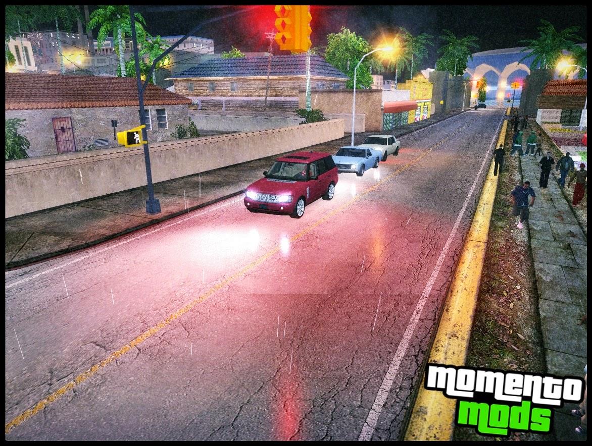 GTA SA - Reflexos Nas Ruas