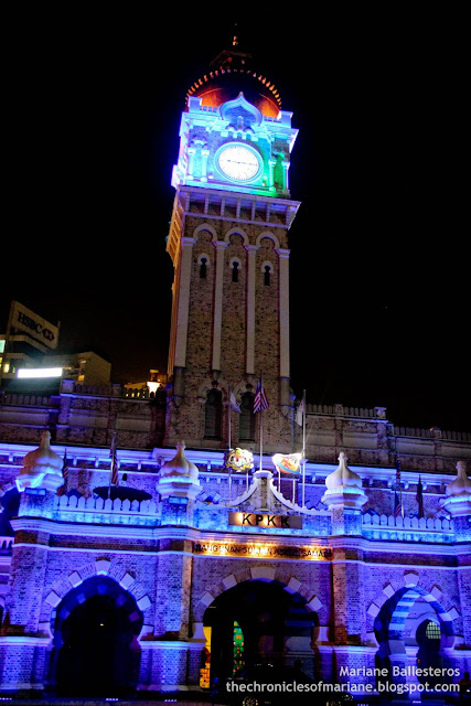 Sultan Abdul Samad building night