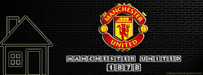 Manchester United Facebook Cover Black Brick