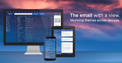 la nueva apariencia de yahoo mail