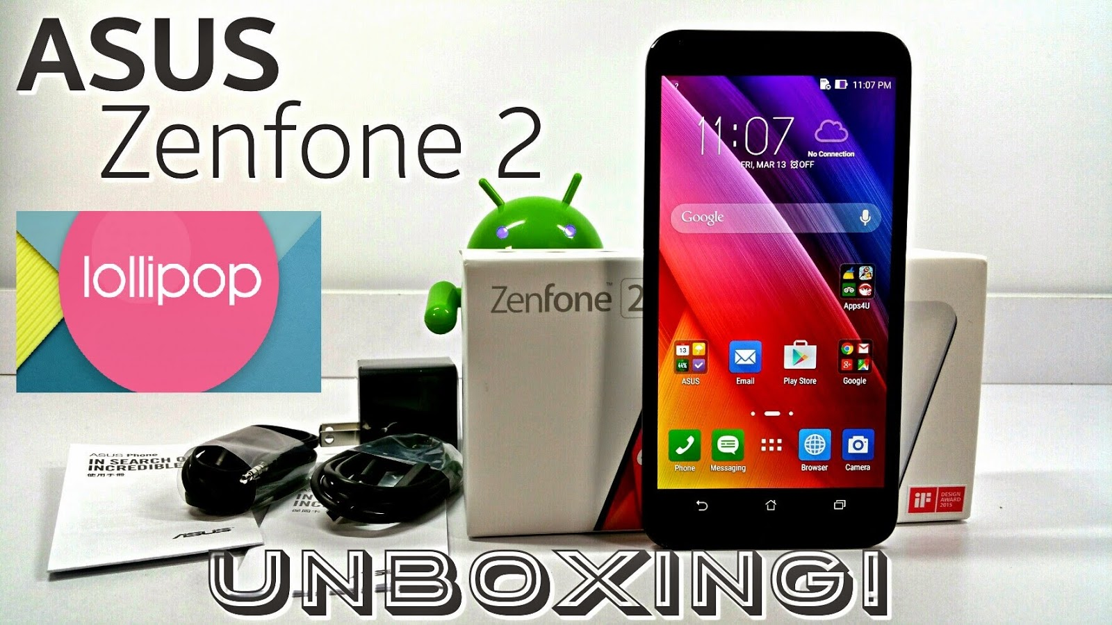 Asus Zenfone 2 UNBOXING Video Hands-on FULL Review