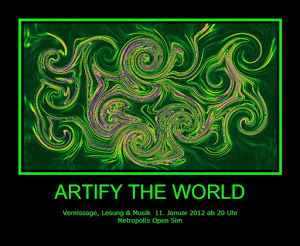 Artify the world