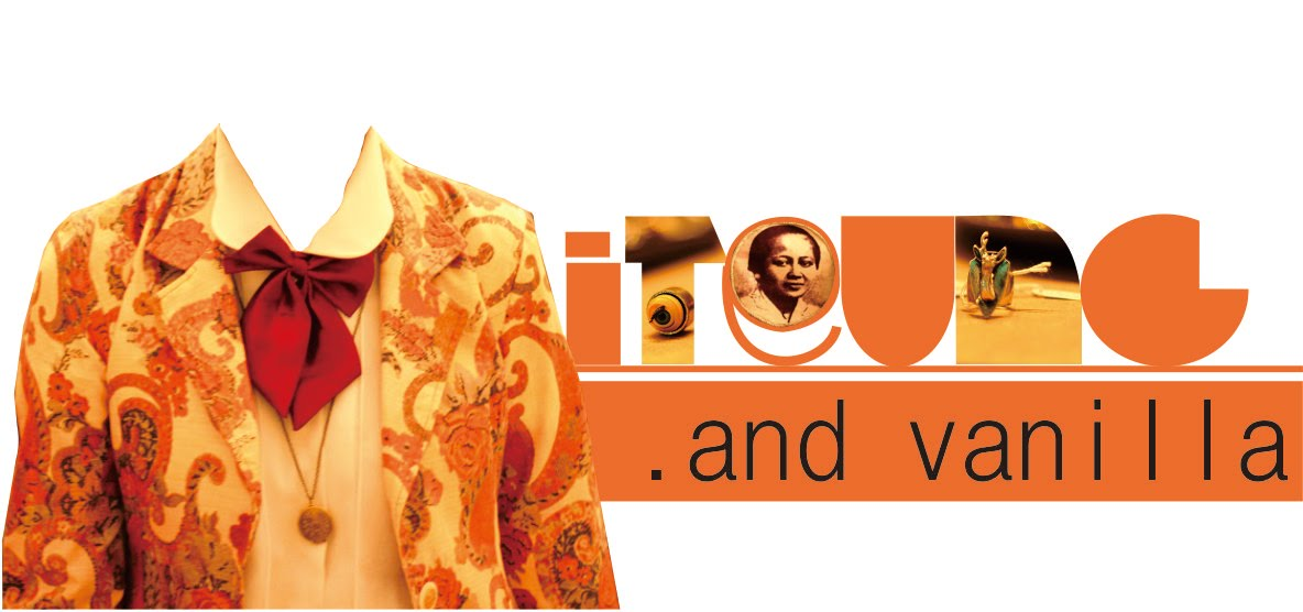 Iteung and Vanilla (my old blog)