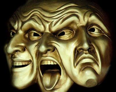 algumas máscaras são colocadas a diário onde cada dia é
