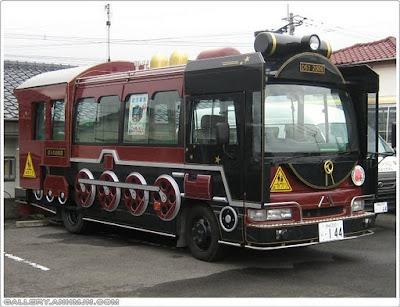 Yuk Melihat BIS-BIS Unik dan Menggemaskan di Jepang