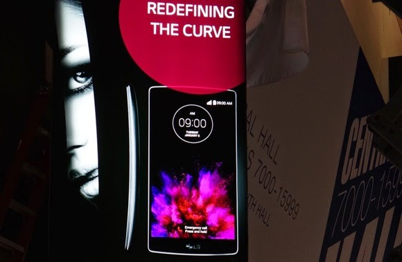 LG G Flex 2 is coming, a poster says it all