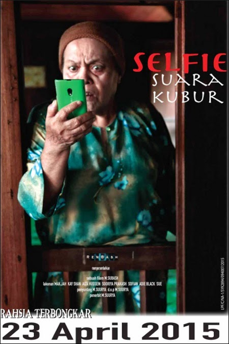 23 APRIL 2015 - SELFIE SUARA KUBUR