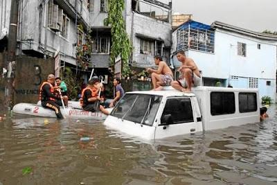 Tifón Guchol azota Japón 20 de Jnuio 2012
