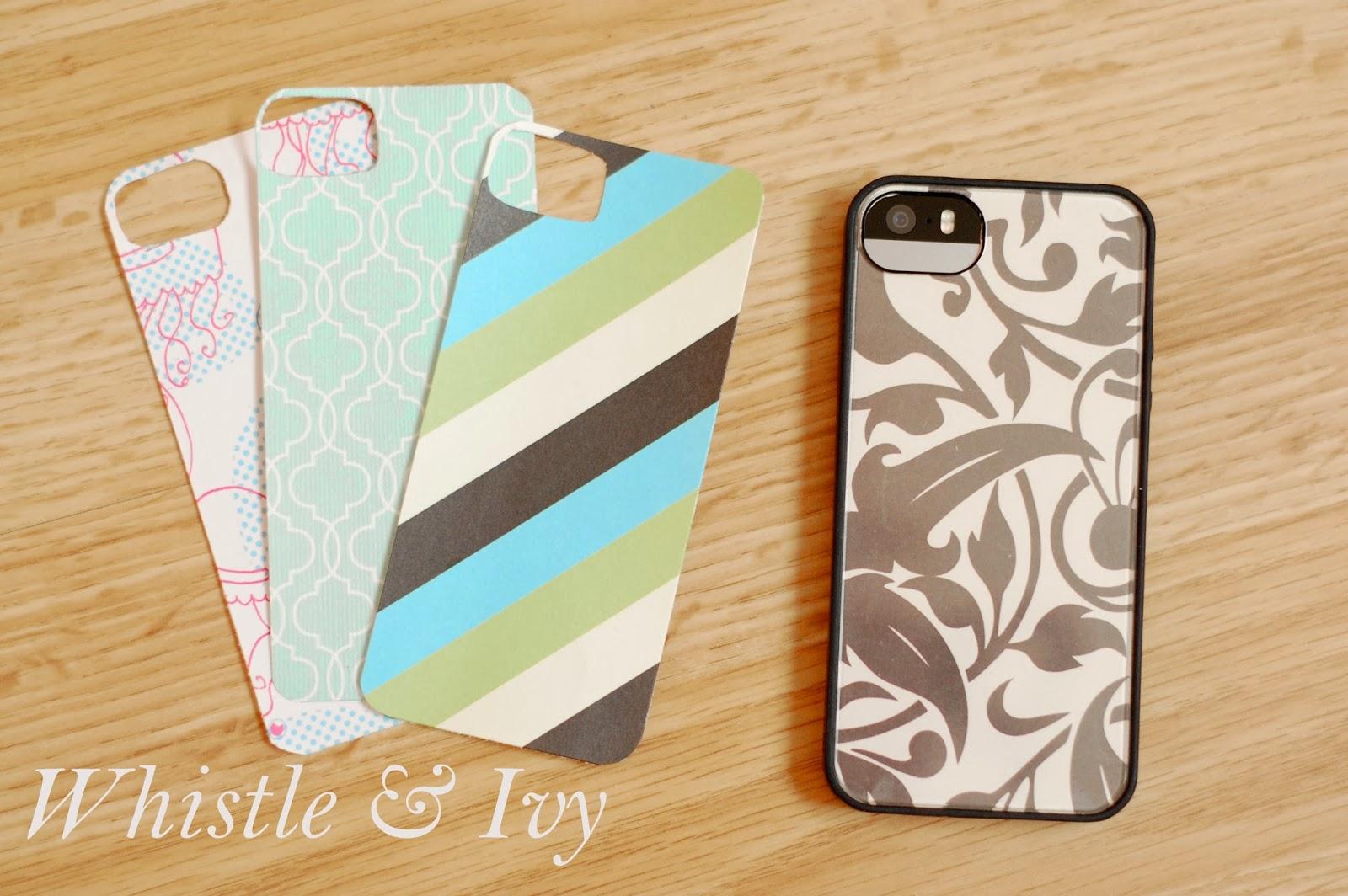 Scrapbook paper case - Diy Iphone Case Made From Cute Paper