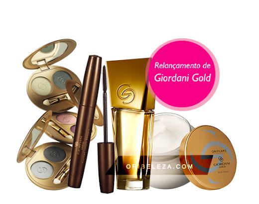 Relançamento 2012 - Giordani Gold da Oriflame