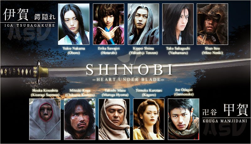 Shinobi : Heart under blade