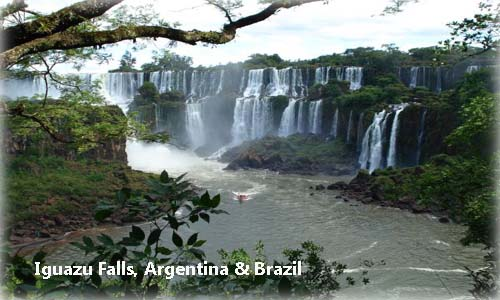 Iguazu falls - New Seven Wonders