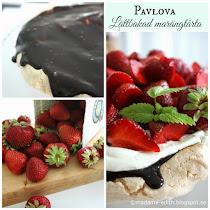 Pavlova - Lättbakad marängtårta