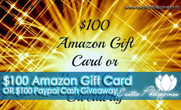 $100 Amazon Gift Card Paypal Cash Giveaway