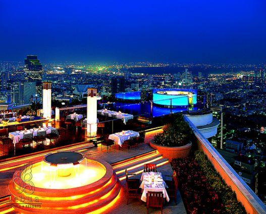 Tips Please TRAVEL Sirocco Sky Bar Bangkok