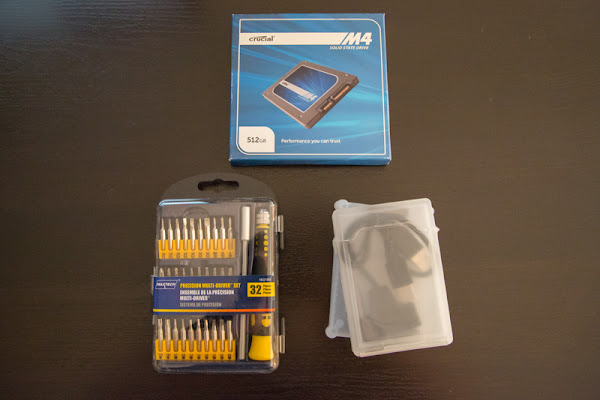 Upgrading my 2010 Macbook Pro to SSD