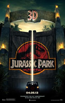 jurassic park 3d 2013 movie poster