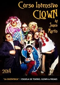 CURSO INTENSIVO DE CLOWN / Madrid, 8 y 9 de Marzo, 2014