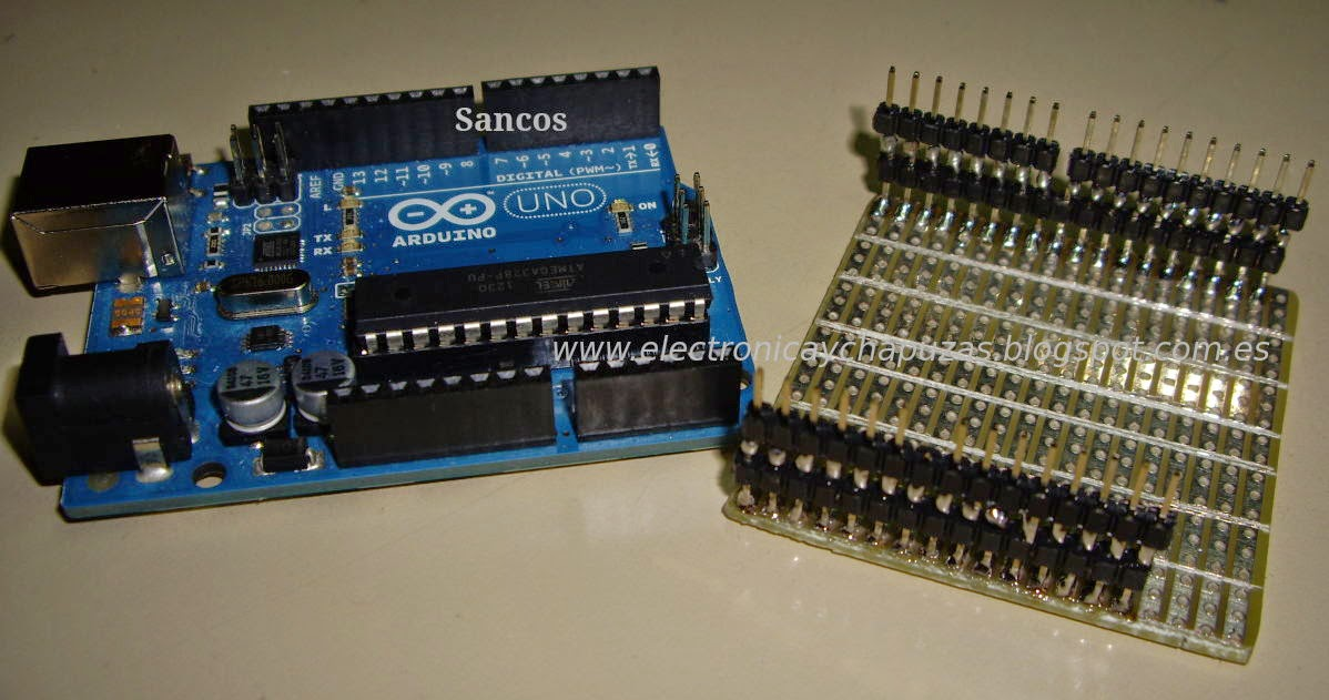 arduino shield for prototypes