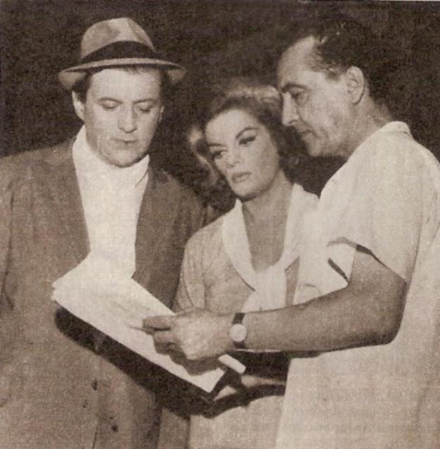 Julio Sosa, Beba Vidart y Hugo del Carril