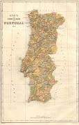 Mapa dos Concelhos de Portugal de 1876 (ca mapa )