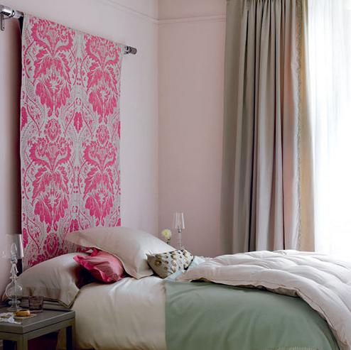 10 ideas de cabeceras para camas decoguia tu gu a de - Cabeceros de tela decoracion ...
