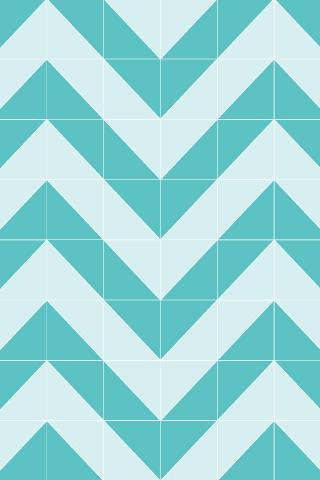 Cute Iphone Wallpapers Chevron Teal Wallpaper