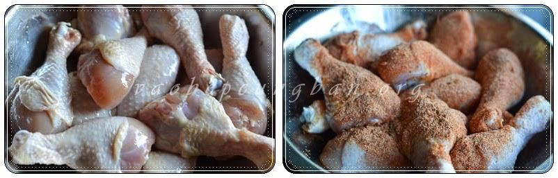 Đùi gà nướng giòn 1