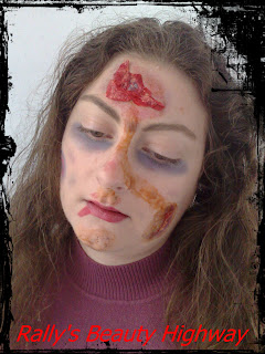 Makeup for Halloween project