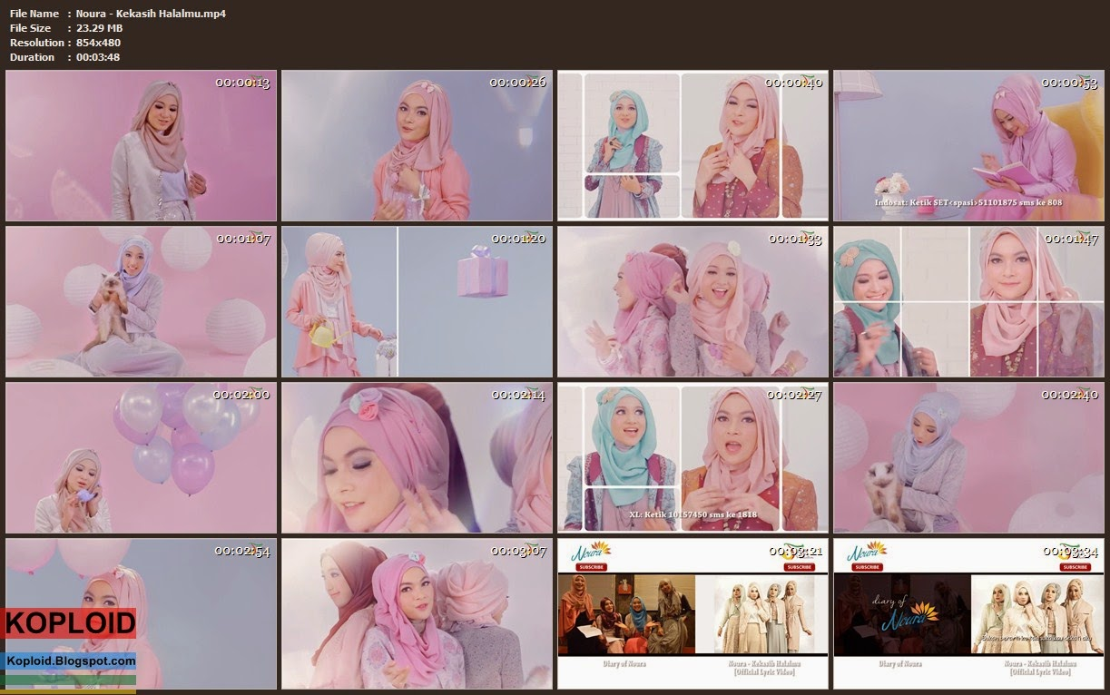 Download Video Klip Musik Noura - Kekasih Halalmu (The Only One) Mp4