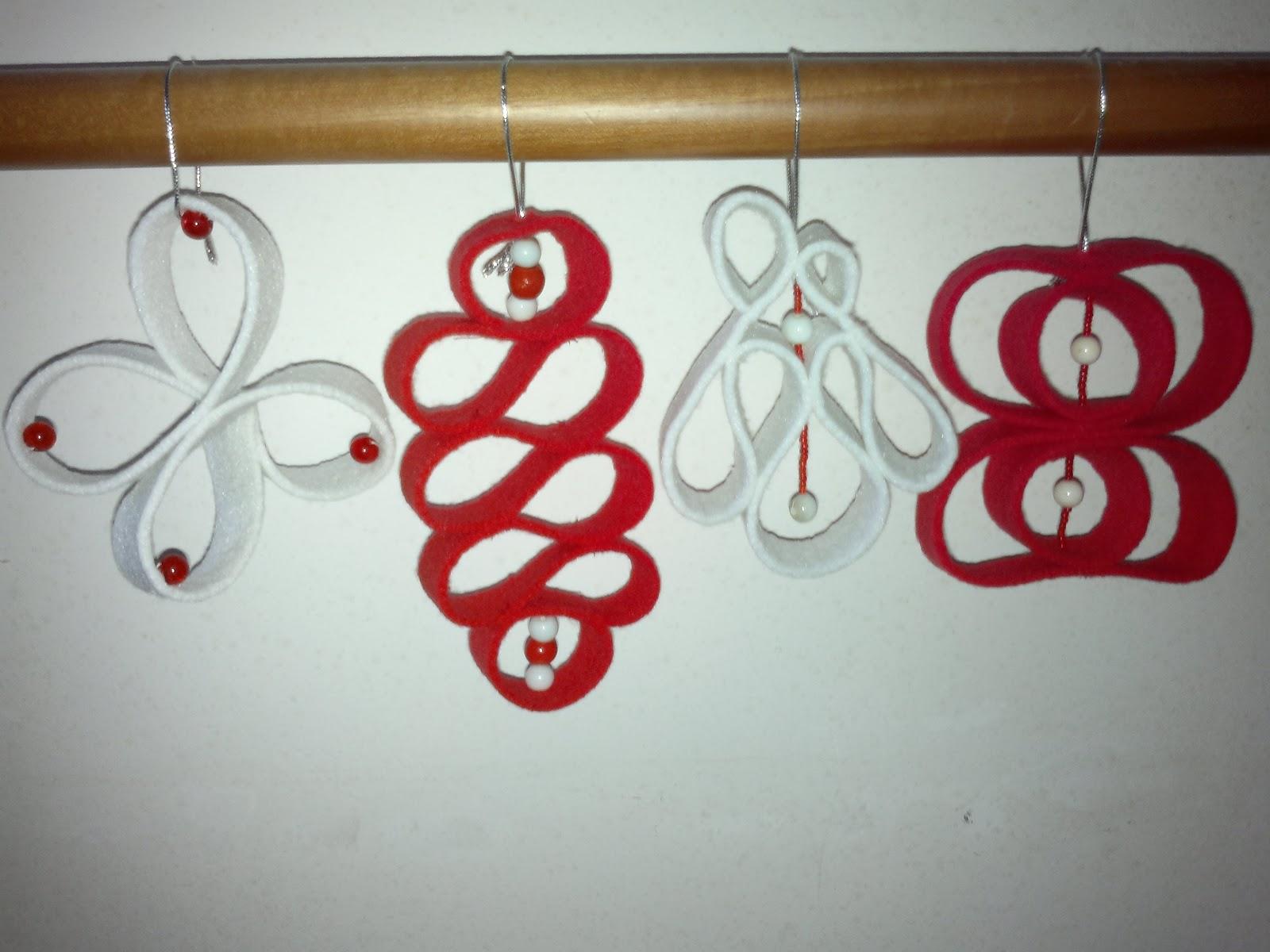 Taglio cucio ricreo decorazioni natalizie - Decorazioni natalizie ...