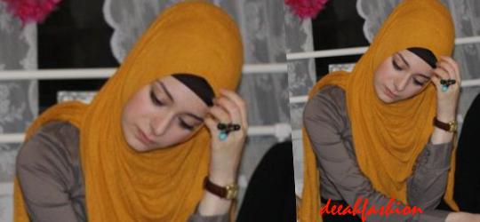 Jilbab Populer 2014 SoftBig Hijab Style
