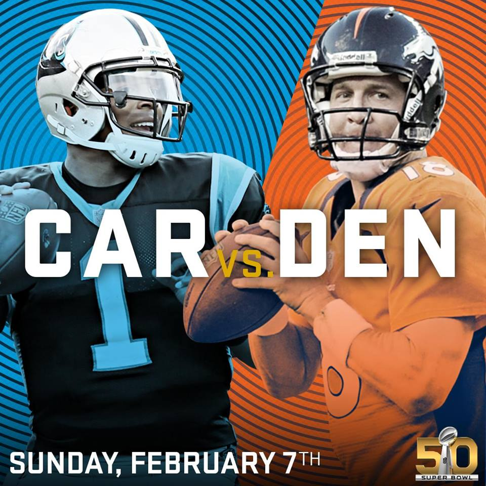 #SB50 #NFLPlayoffs #nfl #superbowl.- car vs. den. sunday, february 7th