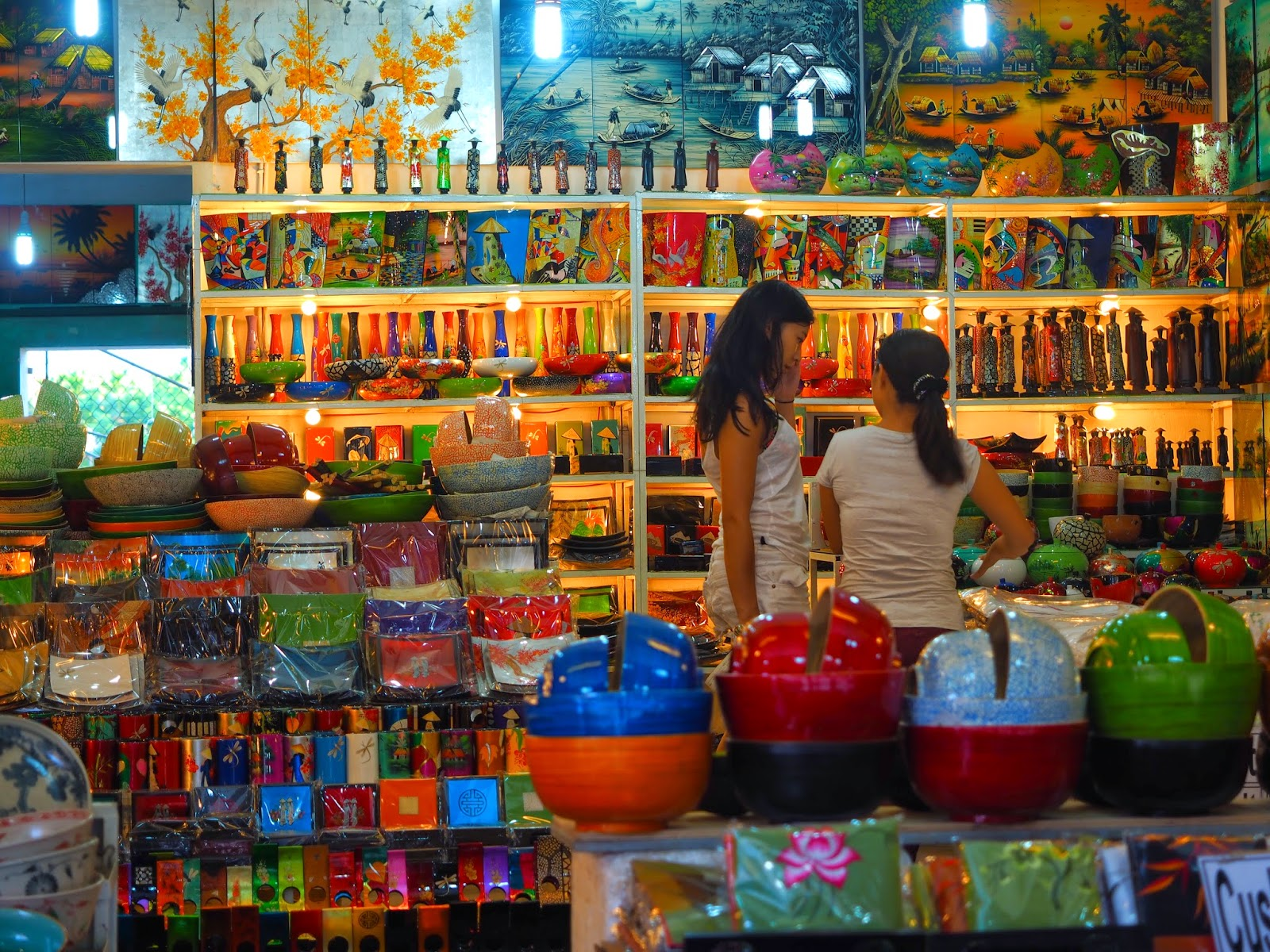 Hoi An Vietnam UNESCO World Heritage shopping street market travel holiday vacation trip