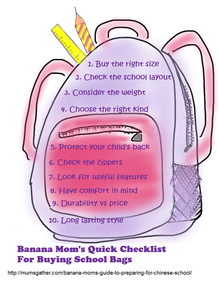 Tips For Buying School Bags