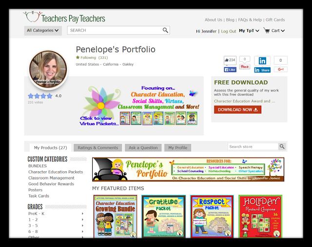 https://www.teacherspayteachers.com/Store/Penelopes-Portfolio