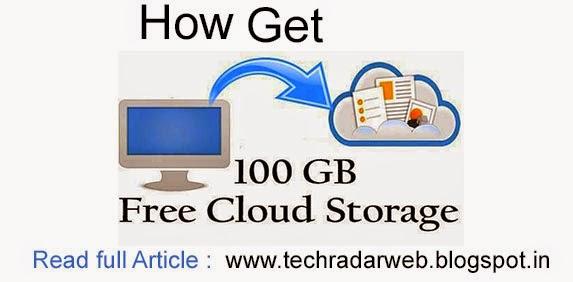 How To Get Upto 100gb Free Online Storage