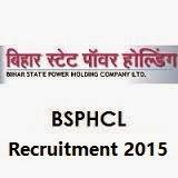 BSPHCL Recruitment 2015.