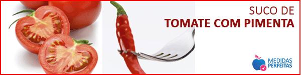 Suco de Tomate com Pimenta - Sucos para Emagrecer