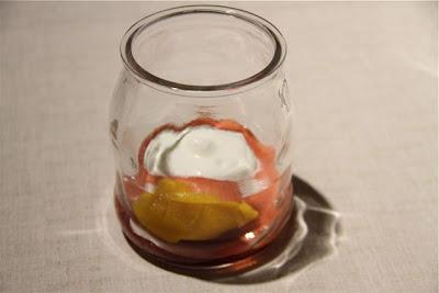 Fresón con Mango- Rest. Caldeni. Blog Esteban Capdevila