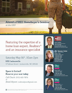 Free First Time Home Buyer's Seminar in Jacksonville, NC