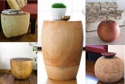Handicraft Table Wood Simplified